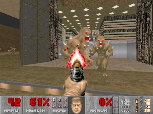 Classic ray casting: Doom