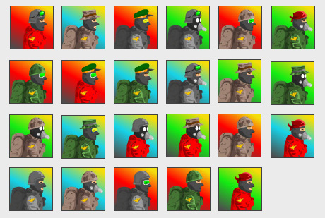 World War flash avatars!