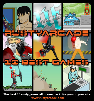 Rusty arcade games pack